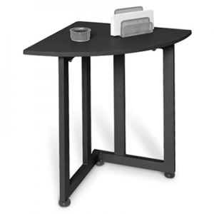 Best Graphite Quarter Round Table Small Corner Table Bef2204229