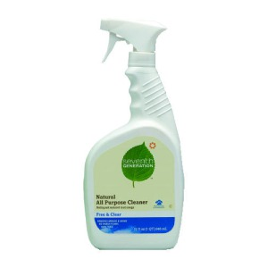 7Th Generation Free &amp  Clear Natural All Purpose Cleaner, 32 Ounce Spray